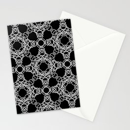 Rings and Throwing Stars Stationery Cards