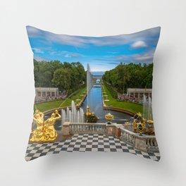 Peterhof Throw Pillow