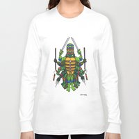 tmnt Long Sleeve T-shirts featuring TMNT by Artifact Supply