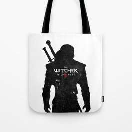 Geralt Silhouette Tote Bag