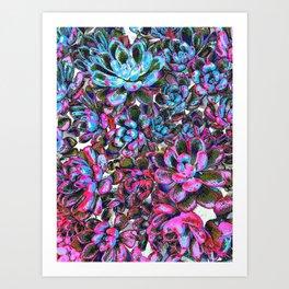 Floral tribute [pixie] Art Print