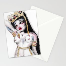 The Ruby Queen Stationery Cards