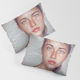 BLUE EYES Pillow Sham