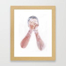 Lather Becalm Framed Art Print