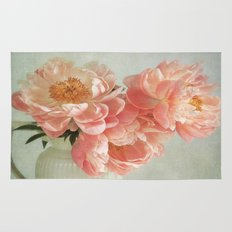 Still life with Peonies Rug