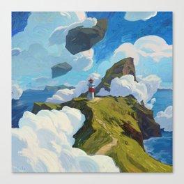 A Ticket To Faroe, Please Canvas Print