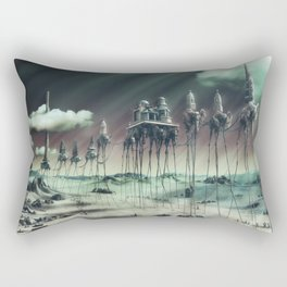 -Caravan Dali- GREEN Rectangular Pillow