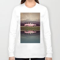 never stop exploring Long Sleeve T-shirts featuring NEVER STOP EXPLORING VII by Monika Strigel