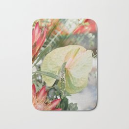 Flower Photography by Chandra Oh Bath Mat
