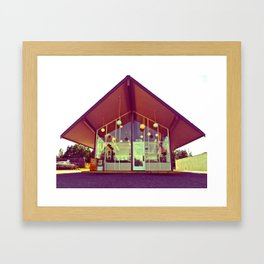 House of Donuts Framed Art Print