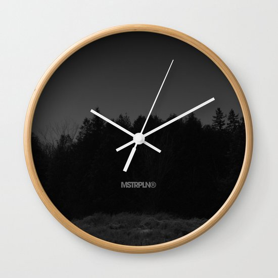 Strong From The North / MSTRPLN® Collection Wall Clock