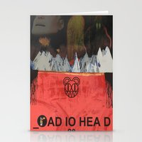 radiohead Stationery Cards featuring Radiohead 20 by W. Keith Patrick