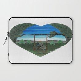Sunset Sweethearts - Scotties - Scottish Terriers Laptop Sleeve