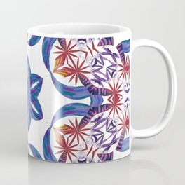 Red Palm Spin Coffee Mug