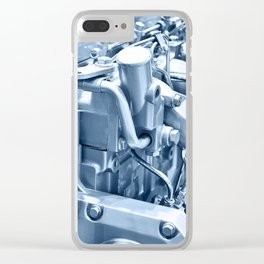 Turbo Diesel Engine Clear iPhone Case