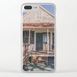 the bermuda store Clear iPhone Case
