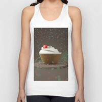 sprinkles Tank Tops featuring Cupcakes & Sprinkles by Owaisj1