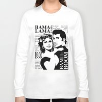 grease Long Sleeve T-shirts featuring Grease by megpatton2