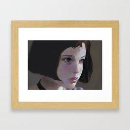 Shade of soul Framed Art Print