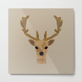 Antler Home Metal Print