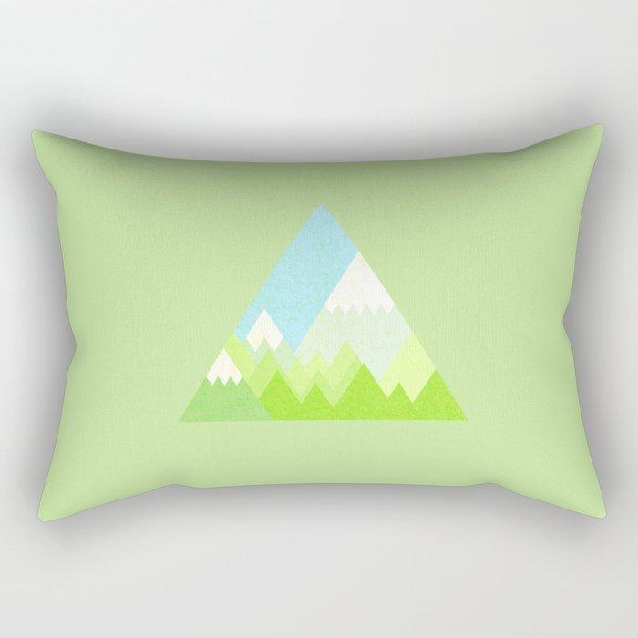 national park geometric pattern Rectangular Pillow