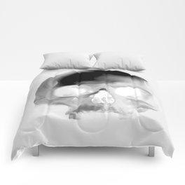 Black Skull Comforters