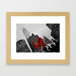 Holiday LOVE Framed Art Print