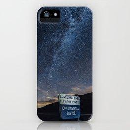 Colorado Summer Nights iPhone Case