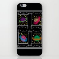 planets iPhone & iPod Skins featuring Planets by Art Stuff