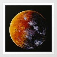 Exoplanet 170127-b2 Art Print