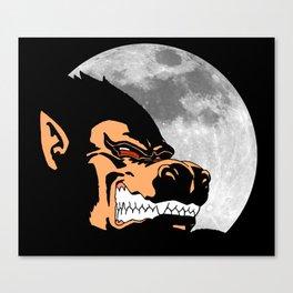 Night Monkey Canvas Print