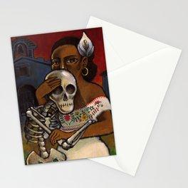 el viento de la noche Stationery Cards