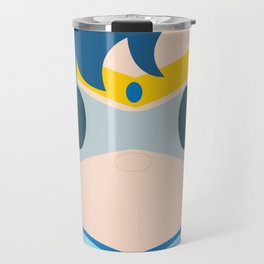 Sailor Mercury Block Travel Mug