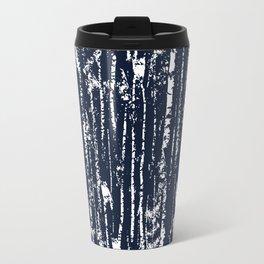Texture night forest  Travel Mug