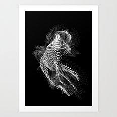 ossitext1 Art Print