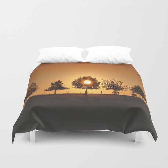 Beautiful Nature Panorama Duvet Cover