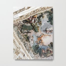 Royal ceilings Metal Print