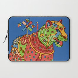 Jaguar, cool wall art for kids and adults alike Laptop Sleeve