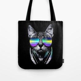 Dj Cat Tote Bag