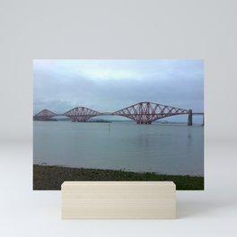 The Scotland Forth Bridge  Mini Art Print