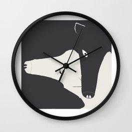 the hug Wall Clock