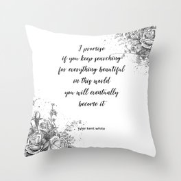 I promise Throw Pillow
