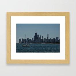 Sail Chicago Framed Art Print