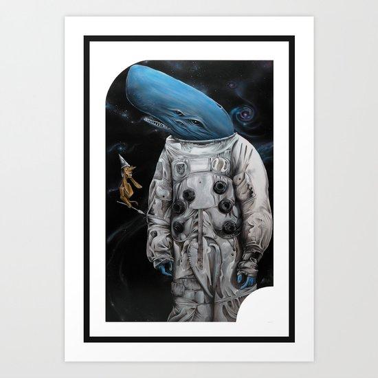Balena N°3 Art Print