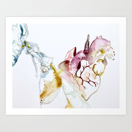 Thought Release Art Print
