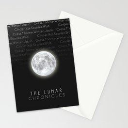 The Lunar Chronicles (Design 2) Stationery Cards