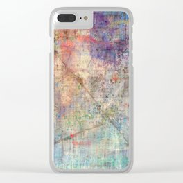 Onions IV Enhanced Invert, Clear iPhone Case