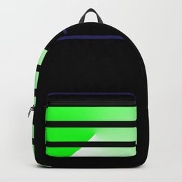 Team Colors....lime green,navy Backpack