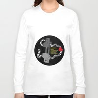 robot Long Sleeve T-shirts featuring Robot by D64d