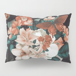 WOMAN WITH FLOWERS 7 Pillow Sham